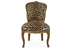Petite Louis-Style Chair on OneKingsLane.com
