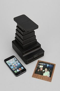 He'll be amazed by this Instant Lab Photo Printer By Impossible Project, which instantly prints photos straight from his iPhone, like a modern day Polaroid. Added bonus: He can easily decorate his room with photos of the two of you; $299 at urbanoutfitters.com