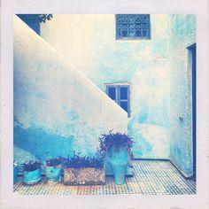 Blue Walls - Fez, Morocco
