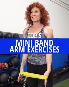 Resistance Band Training, Resistance Workout, Resistance Band Exercises, Resistance Band Arms, Mini Band Exercises, Arm Workout With Bands, Exercise Bands, Excersise Band Workout, Band Workouts