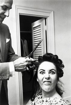 Elizabeth Taylor ~ officially my favorite picture of her! She was awesome...