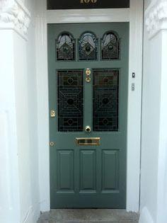 farrow and ball green smoke door - Google Search