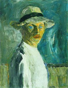 Emil Nolde 1917,Selbstbild