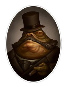 """Jabba the Robber Baron"" / ""Kingpin"" by Greg Peltz"