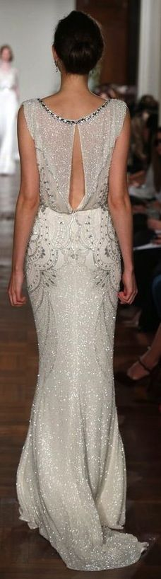 jenny packham - just gorgeous! Highlights all the best parts of the femme form