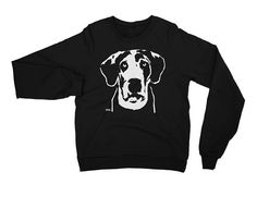 Proud Great Dane Parent? Then this cozy unisex adult sweatshirt will keep you warm in winter. LISTING INCLUDES: American Apparel sweatshirt with unique Akita Inu print.  FEATURES: - American Apparel crew-necked California fleece sweatshirt - made out of 100% extra soft ring-spun combed cotton - pre-washed to minimize shrinkage - breathable yet extra thick for warmth - different sizes and colours available  HOW TO ORDER: - choose sweatshirt you like - choose size and colour from drop down… Dog Lover Gifts, Dog Lovers, Inu, Akita, American Apparel, Graphic Sweatshirt, Cozy, California, Drop