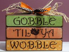Image Detail for - Thanksgiving Day Cricut Craft – Gobble 'Til Ya Wobble   Crafty ...