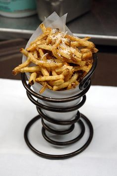 The Starlet�s Diet: Special Treats.. Parmesan Truffle Fries