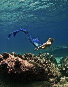 just swimmin