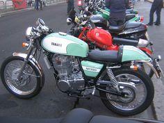 yamaha 500 motorcycle | yamaha sr 500 e in pratica la versione stradale della notissima xt 500 ...