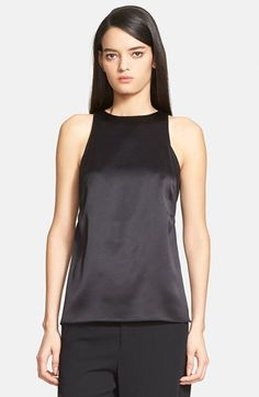 Helmut Lang 'Mere' Silk Tank available at #Nordstrom