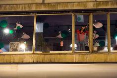 #Vierfuertexas #Weihnachtsfeier 2013 im #ClubMichel #Frankfurt