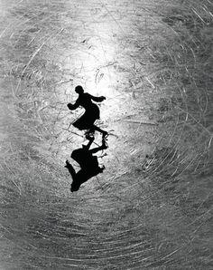 Alfred Eisenstaedt Ice Skating Champion Melitta Brunner Rehearsing in St. Moritz