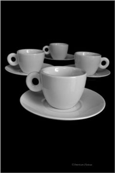 Set 4 European-Style White Porcelain Demitasse Espresso Coffee Cups with Saucers American Chateau http://www.amazon.com/dp/B00KKXUI4K/ref=cm_sw_r_pi_dp_WoBVtb122BF2TJ88