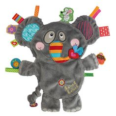 Doudou Eléphant Baby Sewing Projects, Sewing For Kids, Diy For Kids, Tag Blanket, Lovey Blanket, Fleece Crafts, Baby Crafts, Quilt Baby, Dou Dou