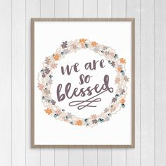 blessed Thanksgiving printable