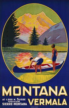 Montana Vermala – Maurice Freundler, 1926