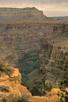 the Grand Canyon!   No photo can ever do it justice.  Where we held the ceremony for Lindas scrunchie. It very unenvironmentally plunged to its death. It had to go!!