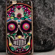 Sugar Skull iPhone 6 Plus Case - My Sugar Skulls
