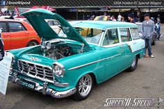 1958 Holden FC Special Wagon Australian Muscle Cars, Aussie Muscle Cars, American Muscle Cars, Retro Cars, Vintage Cars, Holden Muscle Cars, Holden Australia, Old Classic Cars, Station Wagon