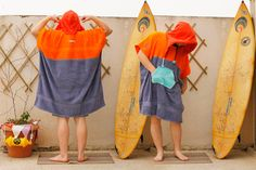 handmade surf changing towel