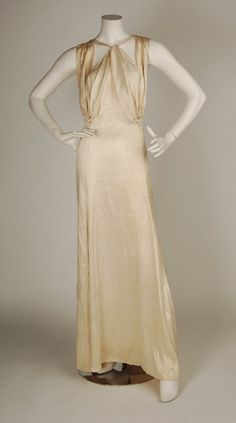 1930s Coco Chanel gown