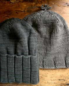 Whit's Knits: Thank You Hats - great quick gift knits! Free pattern at the Purl Bee (blog for the Purl Soho LYS).