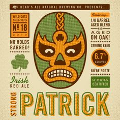 No. 18 • Strong Patrick Irish Red Ale   Beaus All Natural Brewing Co.