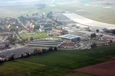 wiesbaden germany army base | Wiesbaden Army Airfield areal view
