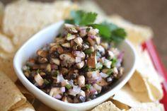 Barefeet In The Kitchen: Mushroom Jalapeno Salsa