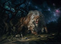Fleecemane Lion has two mana symbols in its mana cost: white and green. Description from mtg.summoning.ru. I searched for this on bing.com/images