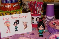 Wreck It Ralph/Sugar Rush Birthday Party Ideas | Photo 17 of 29 | Catch My Party