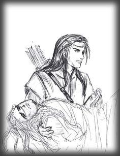 Fingon & Maedhros by Darkmage