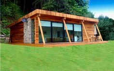 Tiny House Plans 345580971385104659 - have just entered the garden room market and are able to offer customers a tailormade garden room solution. Graeme O'Doherty from explains the companies aim: is a new… Source by WOODIANCE Timber Frame Homes, Timber House, Tiny House Cabin, Cabin Homes, Cabin Design, Tiny House Design, Contemporary Garden Rooms, Luxury Cabin, A Frame House