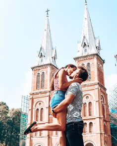 """Páči sa mi to: 614, komentáre: 105 – KARINA ♡ MARTIN   TRAVELCOUPLE (@whywetravel_sk) na Instagrame: """"⚡️ LOVE IS WHEN THE OTHER PERSON'S HAPPINESS IS MORE IMPORTANT THAN YOUR OWN ⚡️ .. .. • ENG BELOW •…"""" Love Is When, Us Travel, Barcelona Cathedral, Happiness, Couple Photos, Happy, Couple Shots, Happy Happy Happy, Bonheur"""