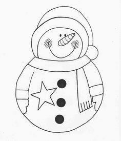 Cute Christmas decorations with felt (include molds) - Dale Details Felt Christmas, Christmas Snowman, Christmas Wreaths, Christmas Ornaments, Applique Patterns, Quilt Patterns, Cute Christmas Decorations, Tole Painting, Mug Rugs