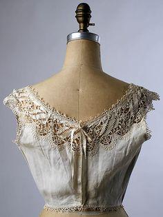 Corset Cover 1900-1910