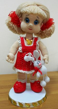 Amigurumi doll ♡ lovely doll