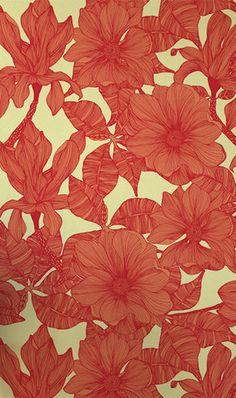 Magnolia, Wallpaper – Camilla Meijer