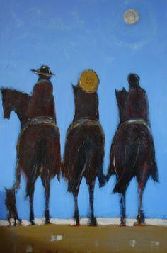 """""""California Riders"""" by Karen Bezuidenhout www.karenbezuidenhout.com sold"""