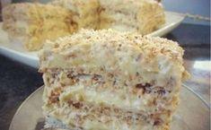 Prăjitura cu cremă și nucă - atât de delicioasă, încât toată lumea va crede că a fost făcută de un mare cofetar