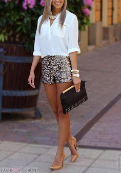 Womens Dressy Shorts