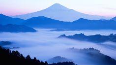 日本の富士山の美しさの夜明け 壁紙 | 1920x1080 壁紙ダウンロード | JA.Best-Wallpaper.Net