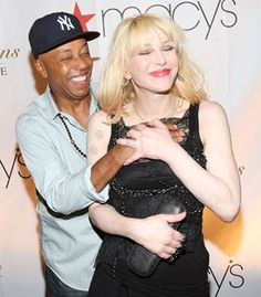 russell simmons courtney love - Google Search alliances that work... is this on brand? i LOVE it its stealthy and cool
