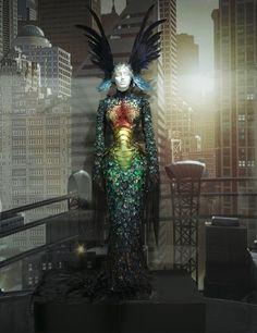 Grace Jones' costume by costume designer Eiko Ishioka