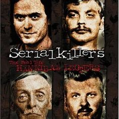 Serial Killers: Real Life Hannibal Lecters: This compelling DVD examines a select group of real life monsters including Ted Bundy, Jeffrey Dahmer, Albert Fish, John Wayne Gacy, and Andrei Chickatilo who were all responsible for more than 150 human lives! John Wayne Gacy, Murder, True Crime Books, Netflix Documentaries, Ted Bundy, Scary Movies, Documentary Film, Movies To Watch, I Movie
