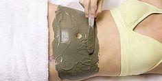 Argila verde para secar barriga e remover a celulite e manchas da pele