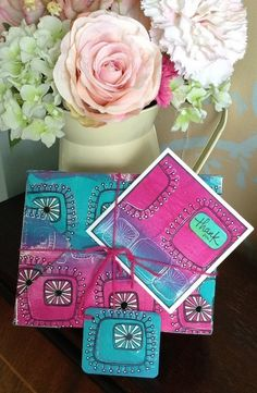 PaperArtsy: 2016 #15 Patterned Gift Box {by Chris Cresswell}