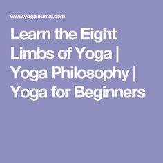 Learn the Eight Limbs of Yoga | Yoga Philosophy | Yoga for Beginners