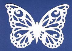 Butterfly Cutouts Butterfly 3 laser cutout pk of